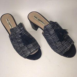 KARL LAGERFELD Haley Mule Sandals 👡